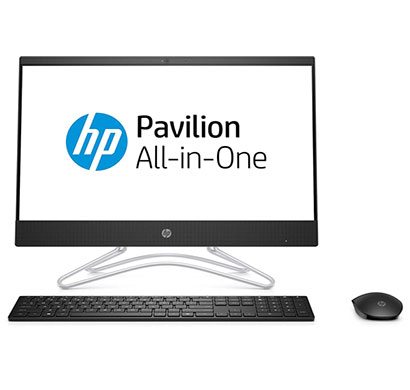 hp pavilion 22-c0019il all-in-one desktop (intel core i3-8130u/ 8th gen/ 4gb ram / 1tb hdd/ dos/ dvdrw/ 21.5 inch screen/ integrated graphic/ wireless keyboard mouse) black