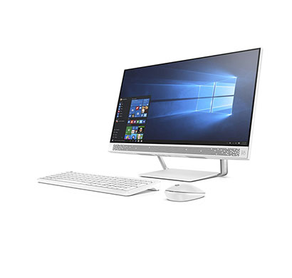hp pavilion 24-qb0077in (4yr66aa#acj) aio desktop (core-i7 8700 hexa core/ 8th gen/ 16gb ram/ 2tb hdd + 16gb optane/ windows 10 + ms office/ 4gb graphics/ 23.8 inches)