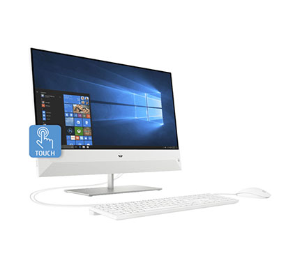 hp pavilion 24-qb0076in (4yr64aa#acj) aio desktop (core-i7 9700 octa core/ 9th gen/ 16gb ram/ 2tb hdd + 256 ssd/ windows 10 + ms office/ 4gb graphics/ 23.8 inches)