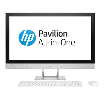 hp pavilion 24-qa180in (4ly60aa#acj) aio desktop (intel core-i7 8700 hexa core/ 8th gen/ 16gb ram/ 2tb hdd + 16 gb optane/ windows 10 + ms office/ 4gb graphics/ 27 inches)