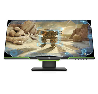 hp 25x 24.5-inch (62.23 cm) full hd gaming display monitor - 3wl51aa (black)