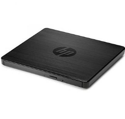 hp - f6v97aa, usb external dvd-rw drive, black, 1 year warranty