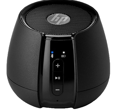 hp- s6500, mini bluetooth speakers , black, 1 year warranty