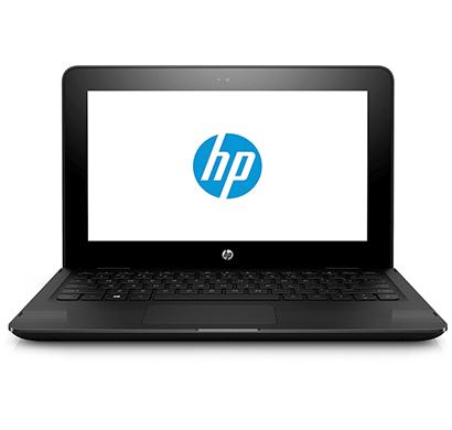 hp 11-ab005tu 11.6-inch touchscreen 2-in-1 laptop (pentium n3710/4gb/500gb/windows 10/integrated graphics), dts sound studio black