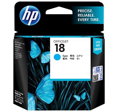 hp 18 cyan ink cartridge c4937a