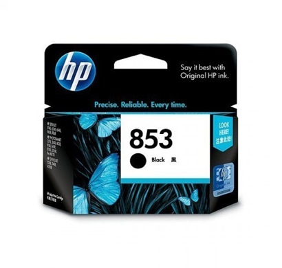 hp 853 black ink cartridge c8767zz