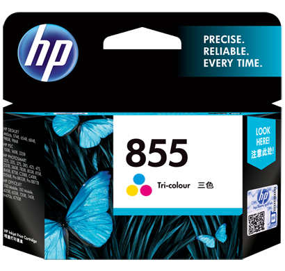 hp 855 tri-color ink cartridge c8766zz