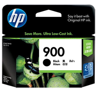 hp 900 black ink cartridge - cb314a, 1 year warranty
