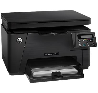 hp color laserjet pro multifunction printer m176n - cf547a, 1 year warranty