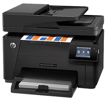 hp color laserjet pro multifunction printer m177fw - cz165a, 1 year warranty