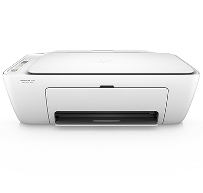 hp deskjet 2675 all-in-one printer, white, 1 year warranty