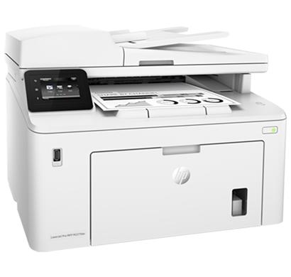 hp laserjet pro multifunctional printer m227fdw - g3q75a, 1 year warranty