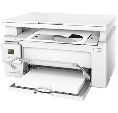 hp laserjet pro multifunctional printer m132a - g3q61a, 1 year warranty