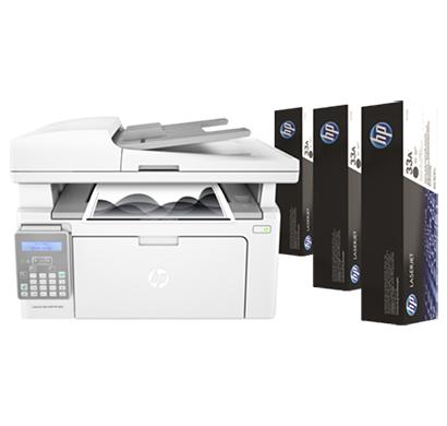 hp laserjet ultra multifunctional printer m134fn - g3q67a, 1 year warranty