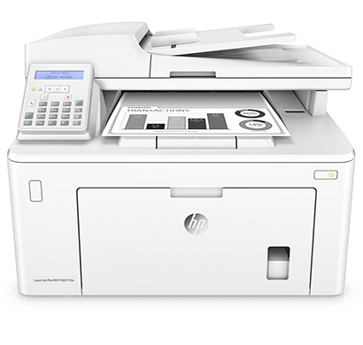 hp laser jet pro multifunction printer - m227fdn, 1 year warranty