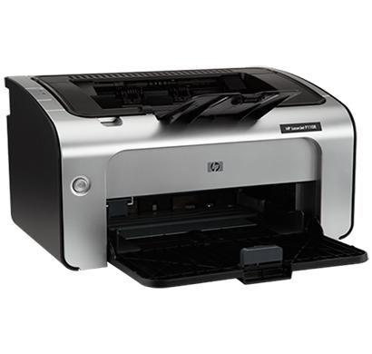 hp laserjet p1108 monochrome laser printer silver black