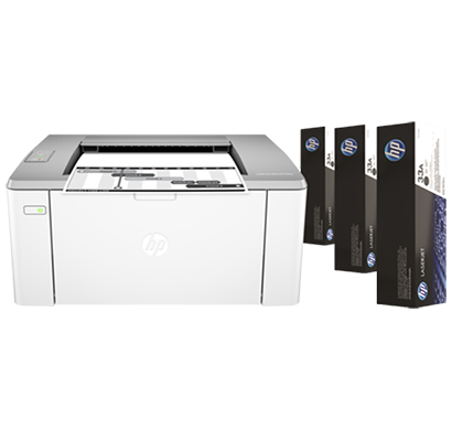 hp laser jet ultra mfp m106w printer - g3q39a, 1 year warranty