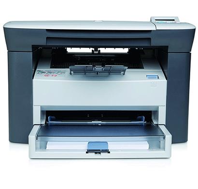hp laserjet- m1005 multifunction monochrome laser printer, white,1 year warranty