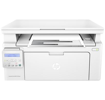 hp laserjet pro- m132nw monochrome multi-functional laser printer, 1 year warranty