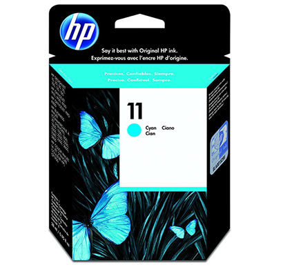 hp no 11 cyan ink cartridge c4836a