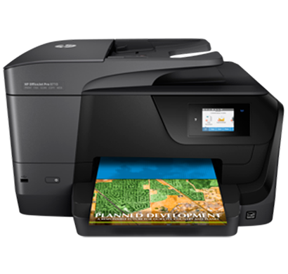hp officejet pro 8710 all in one printer - d9l18a, 1 year warranty