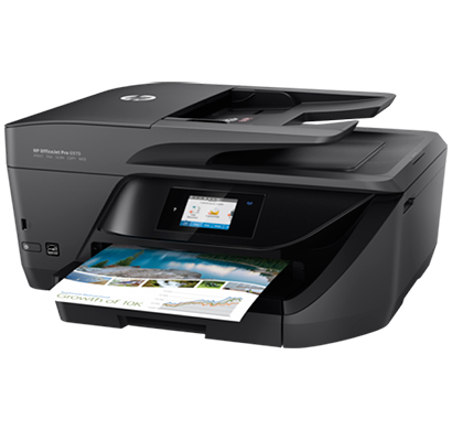 hp officejet pro 6970 all in one printer- j7k34a, 1 year warranty