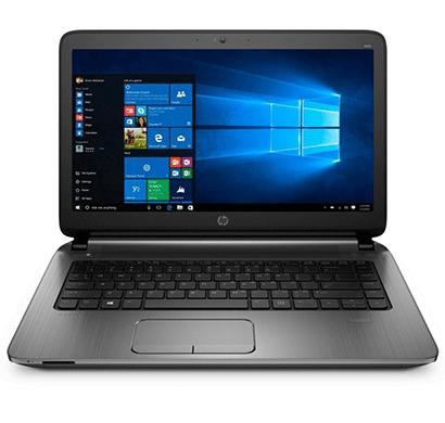 hp probook 445 14-inch laptop (amd a10-7300/ 4gb ram/ 500gb hdd/ windows 10 pro/ 1gb graphics) grey