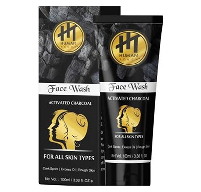 human touch (nbhtfw003) activated charcoal face wash