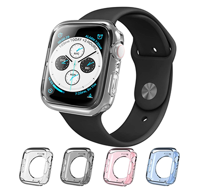 i-blason (b07hcw2h28)tpu case for apple watch series 4 2018 (40 mm) -halo-40- colors 4 set of 4 pieces