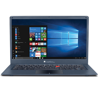 iball -compbook marvel 6, laptop (intel celeron n3350- 3gb ram- 32gb emmc- 35.56cm(14)-windows 10),metallic grey, 1 year warranty