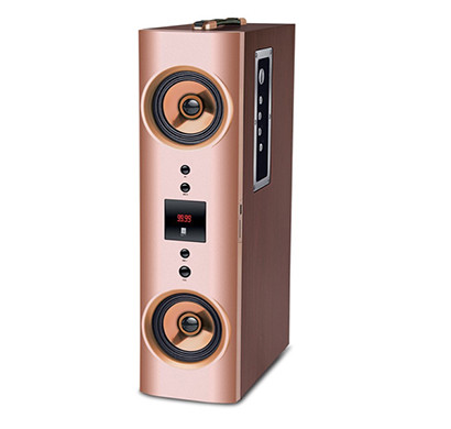 iball tower speakers (karaoke booster tower 2.1) karaoke speaker with wireless microphone and remote control