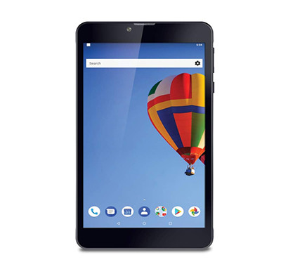 iball slide (blaze v4) tablet (7 inch screen, 16gb, wi-fi + 4g lte + voice calling), jet black