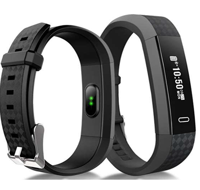 igats smart band, black