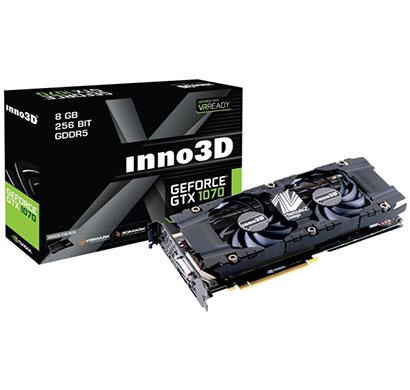 inno3d graphics card pascal series - gtx 1070 8gb gddr5 twin x2 v2 (n1070-1sdv-p5dn)