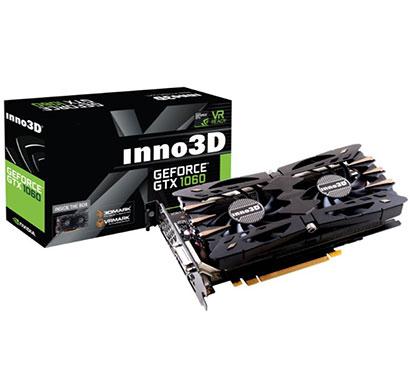 inno3d geforce gtx 1060 twin x2 6gb gddr5 pci-express graphics card (n106f-5sdn-n5gs)