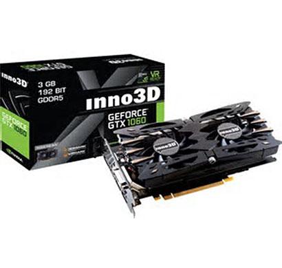 inno3d graphics card pascal series gtx 1060 3gb gddr5 compact edition (n1060-4ddn-l5gm)