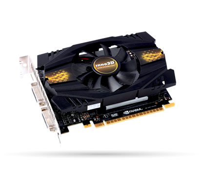 inno3d nvidia geforce gt 740 2 gb ddr5 graphics card (n740-1sdv-e5cwx)