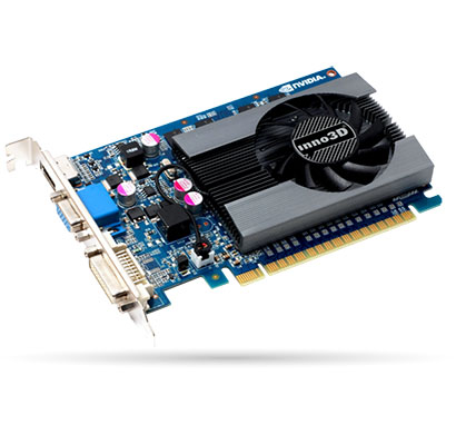 inno3d nvidia geforce gt 730 4 gb ddr3 graphics card (n730-65dv-m3cx)