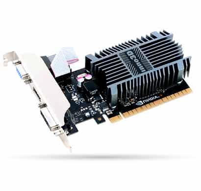 inno3d nvidia geforce gt 710 1gb sddr3 graphic card (n710-1sdv-d3bx)