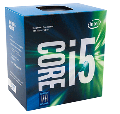 intel core i5 -7400 7th generation core desktop processor