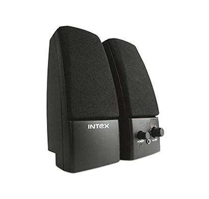 intex it-350s 2.0 multimedia speakers black