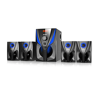 intex jazz 4.1 85 w bluetooth home audio speaker (black, 4.1 channel)