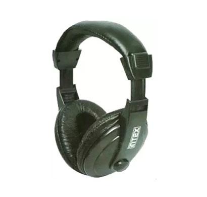 intex mega multimedia headset with mic black