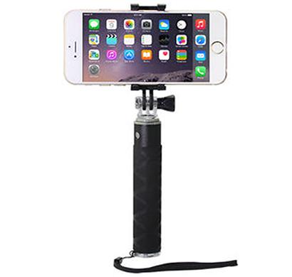 ipearl- ip14-po-08903a, pocket selfie stick, (enjoyable), maximum length of 50 cm, black