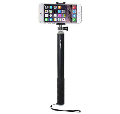 ipearl - ip14-po-08904a, folding plus selfie stick, (plus) 120cm maximum length, black