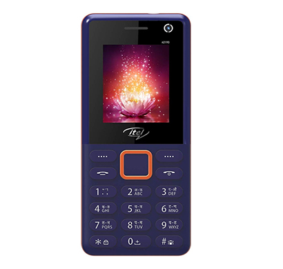 itel 2190 feature phone (dark blue)