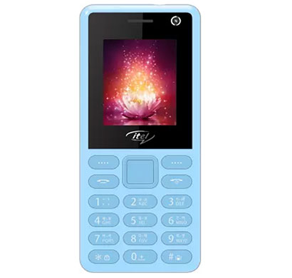 itel it2190 feature phones 32mb (city blue)