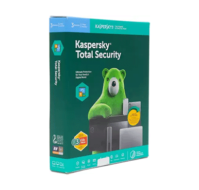 kaspersky total security- 3 users, 1 year (3cd, 3 key)