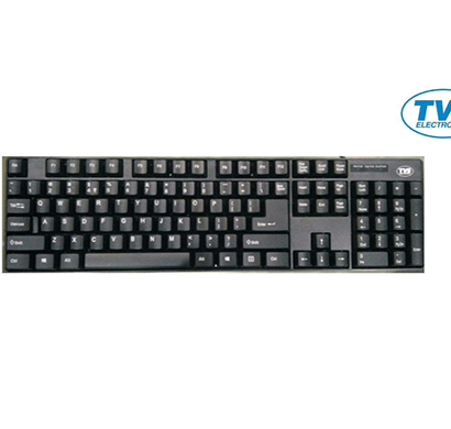 tvse keyboard champ usb 107keys bilingual black