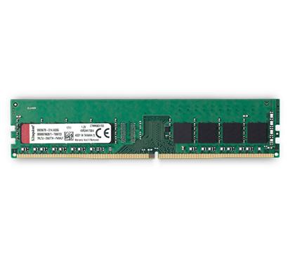 kingston valueram 4gb 2400mhz ddr4 non-ecc cl17 dimm 1rx8 desktop memory (kvr24n17s8/4)